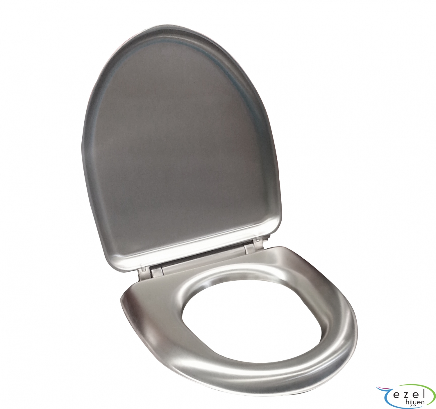 Fabulous Ek 617 Stainless Steel Toilet Seat Cover Ezel Hijyen Pabps2019 Chair Design Images Pabps2019Com
